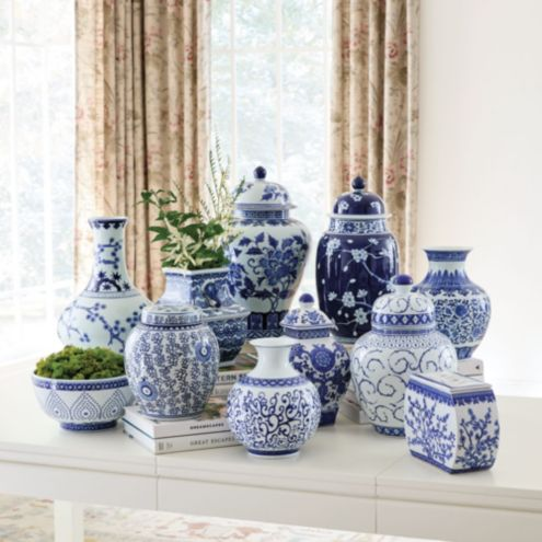 Blue White Chinoiserie Collection