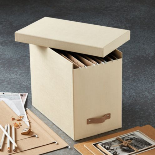 Elisa Office File Storage Box