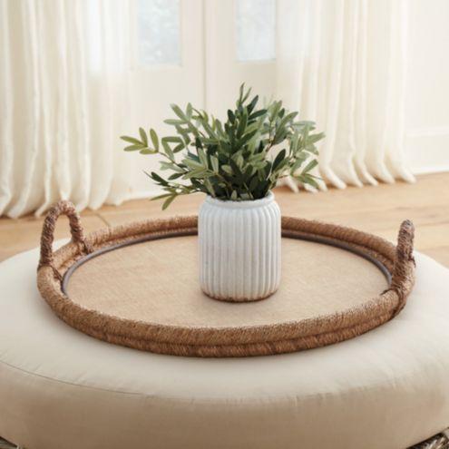 Tremendous Woven Ottoman Tray Ibusinesslaw Wood Chair Design Ideas Ibusinesslaworg