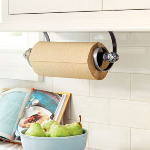 Artichoke Under Cabinet Paper Towel Holder