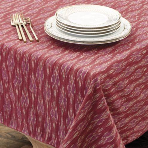 Bunny Williams Thai Ikat Tablecloth Ballard Designs