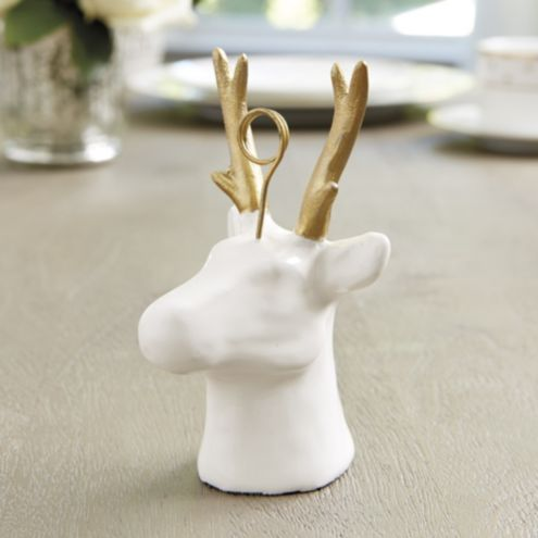 Reindeer Place Card Holders Set Of 4