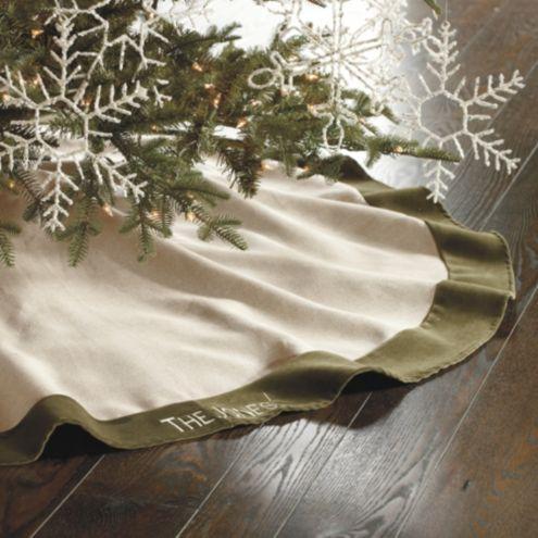 Suzanne Kasler Linen Tree Skirt