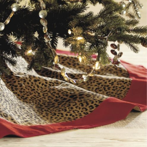 Cheetah Tree Skirt