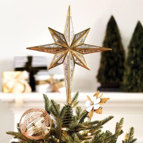 North Star Christmas Tree Topper Ornament