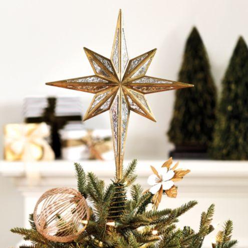 North Star Christmas Tree Topper Ornament Ballard Designs