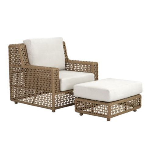 Marvelous Provincetown Lounge Chair Ottoman With Cushions Ballard Alphanode Cool Chair Designs And Ideas Alphanodeonline