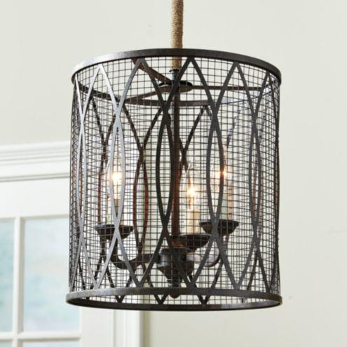 Denley 3 Light Pendant Ballard Designs