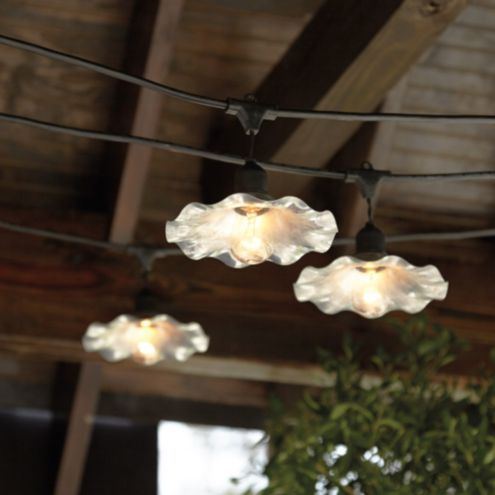 Café Shade For Vintage String Lights
