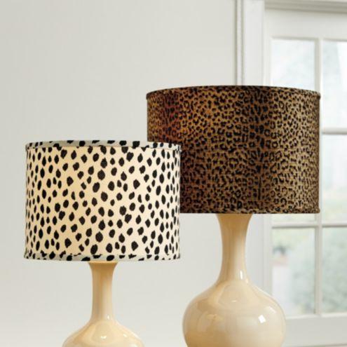 Animal Print Lamp Shade Ballard Designs, Giraffe Print Floor Lamp