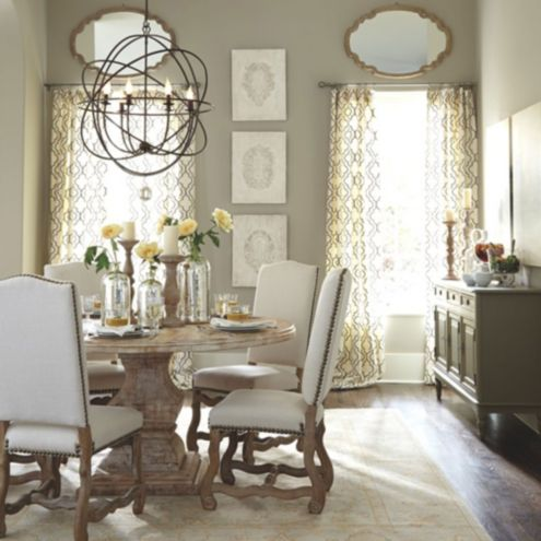 Ballard Designs Chandelier coretta dining room furniture collection | ballard designs