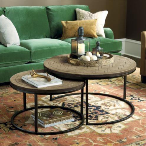 August Nesting Coffee Tables   Set Of 2 | Ballard Designs | Ballard Designs