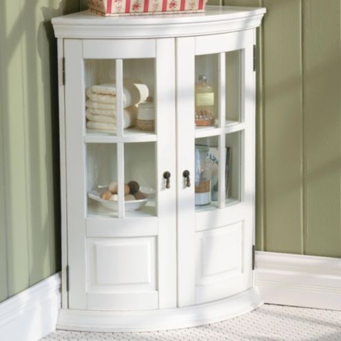Half Chilton Curved Corner Cabinet