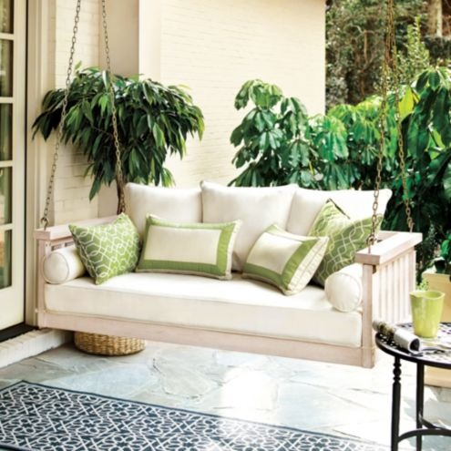 Ballard Design Pillows sunday porch swing | ballard designs | ballard designs