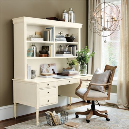 Ballard Design Desk verona desk with hutch | ballard designs | ballard designs
