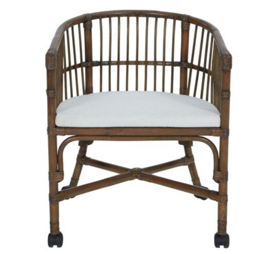 Tabby Wicker Desk Chair