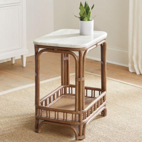 Annisa Rattan Side Table