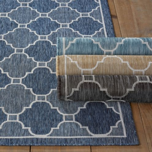 Geneve Indoor/Outdoor Rug | Ballard Designs | Ballard Designs