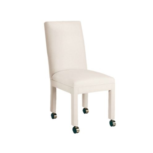Parsons Chair Frame With Casters