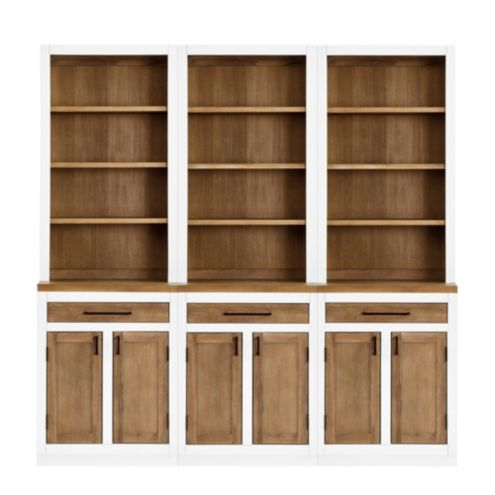 Ashton Dining Room Servers With 3 Door Consoles Set Of 3 | Ballard Designs