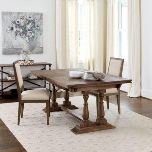 Excellent Cora Pedestal Extension Table Ballard Designs Ballard Gmtry Best Dining Table And Chair Ideas Images Gmtryco