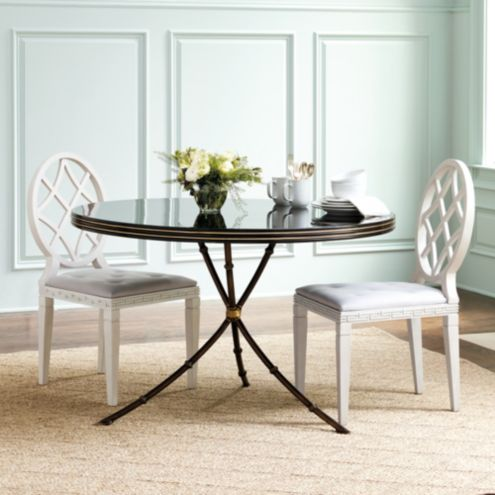 Incredible Miles Redd Round Dining Table Caraccident5 Cool Chair Designs And Ideas Caraccident5Info