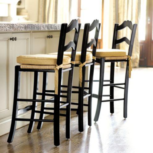 Ballard Designs Stools lemans counter stools - italian country furniture - hand woven rush