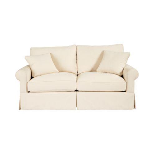 Baldwin Apartment Sofa Slipcover - Ballard Essentials Fabrics   Ballard  Designs