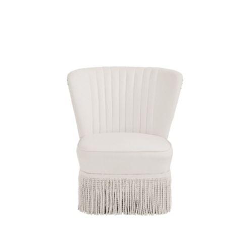 Miles Redd Channeled Slipper Chair by Ballard Designs