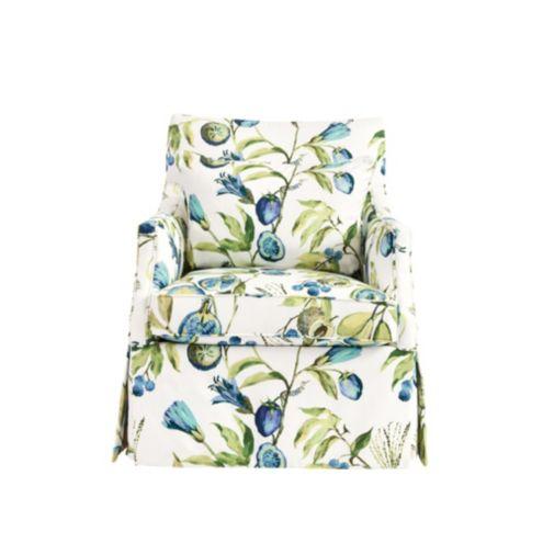Marvelous Larkin Glider Chair Alana Blue Ballard Designs Pdpeps Interior Chair Design Pdpepsorg