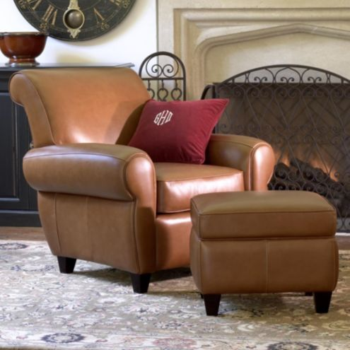 Cool Paris Leather Chair And Ottoman Short Links Chair Design For Home Short Linksinfo