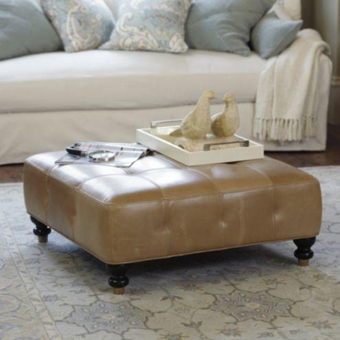 Groovy Kent Leather Ottoman Ballard Designs Ballard Designs Short Links Chair Design For Home Short Linksinfo