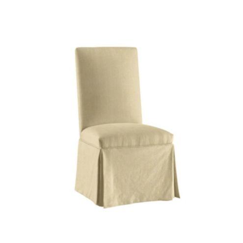 Suzanne Kasler Linen Parsons Chair Slipcover | Ballard Designs | Ballard Designs  sc 1 st  Ballard Designs & Suzanne Kasler Linen Parsons Chair Slipcover | Ballard Designs ...