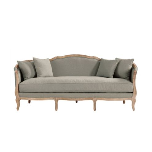 Sofia Upholstered Sofa   Stocked by Ballard Designs