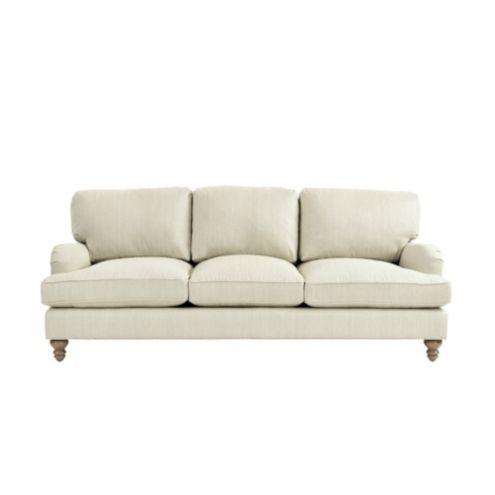 Eton Upholstered Sofa In Posh Dove Sunbrella Performance Fabric
