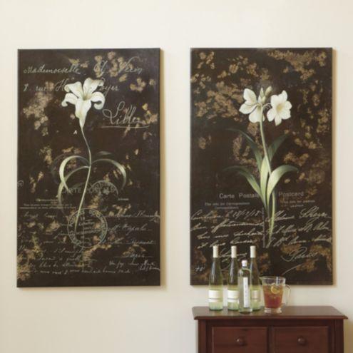 Decoration Carte Postale.Fleur Carte Postale Giclee Wall Decor Ballard Designs