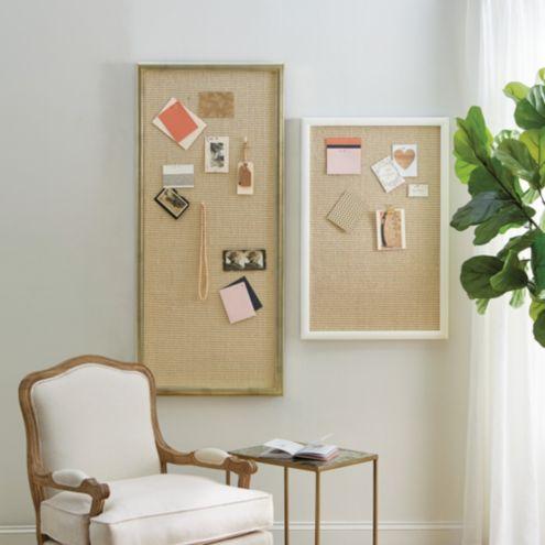 Suzanne Kasler Sisal Message Board by Ballard Designs