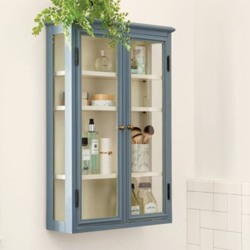 Apothecary Shallow Cabinet