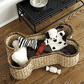 Spot Dog Bone Basket