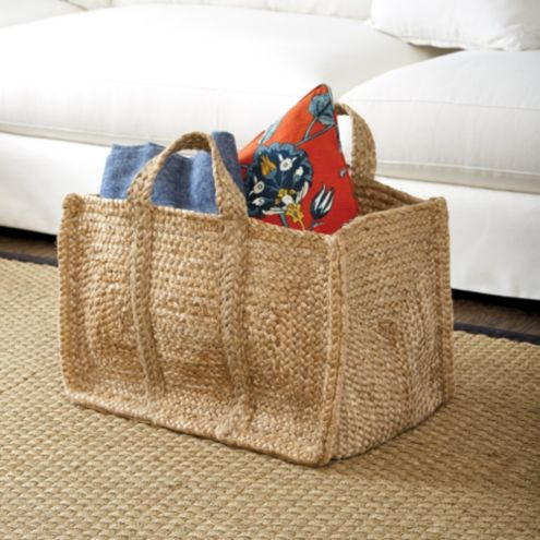 Jute Woven Carry All