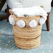 Tilly Pom Basket