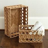 Honeycomb Woven Basket