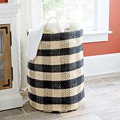 Buffalo Check Laundry Basket