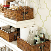 Rattan Utility Baskets