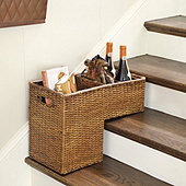 Rattan Step Basket
