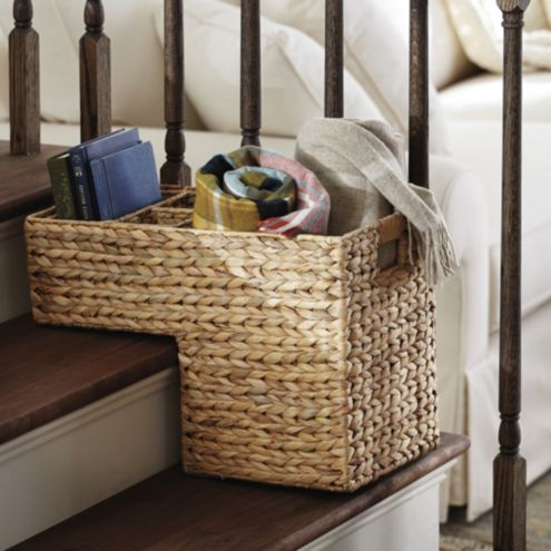 Hyacinth Stair Basket
