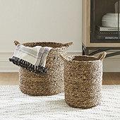 Braided Baskets - Set of 2