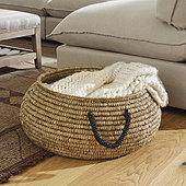 Crochet Low Basket