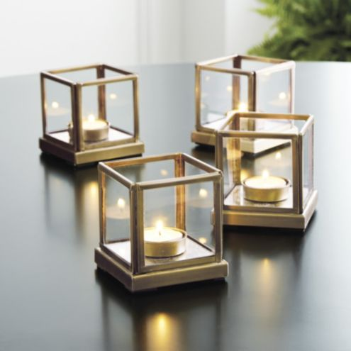 Set of 4 Lt Le Marais Tealight Holders