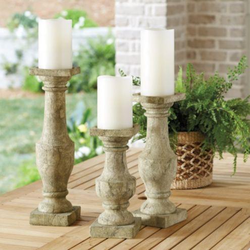 Garden Fragment Candle Holder Ballard Designs